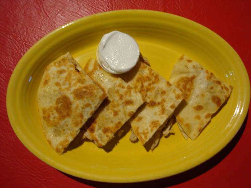 Chicken Quesadillas Image