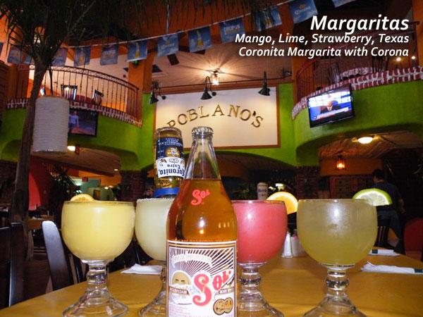 Poblanos Mexican Margaritas drink image