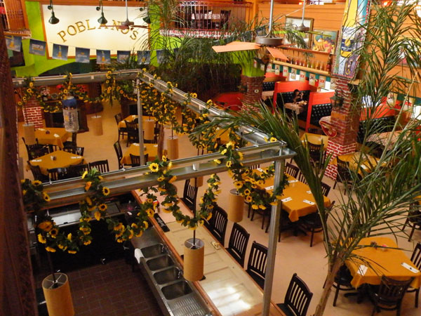 Poblanos Mexican Restaurant Overhead View image