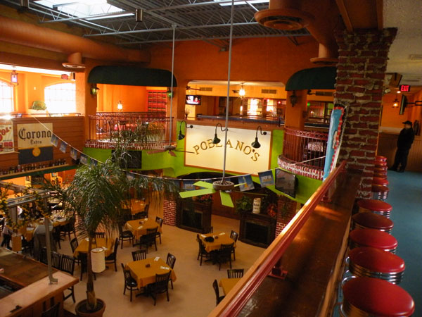 Poblanos Mexican Restaurant View from Balcony image