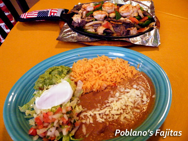 Poblanos Mexican Restaurant Fajitas image