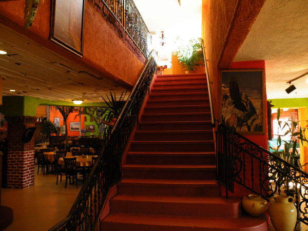 Poblanos Mexican Restaurant Stairs to Balcony image