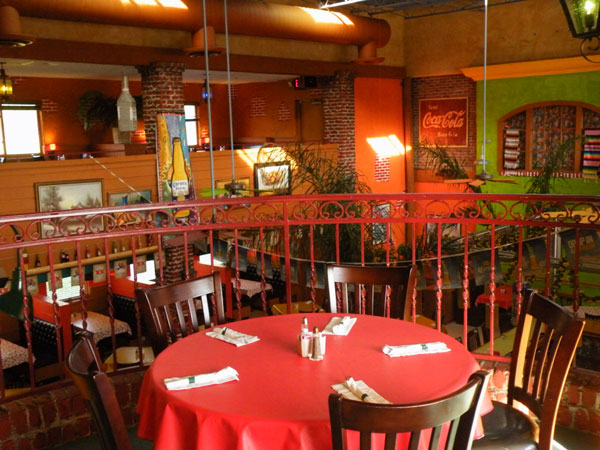 Poblanos Mexican Restaurant Balcony Dining image