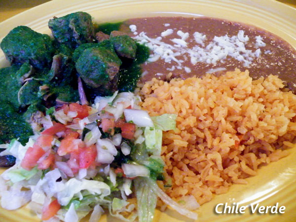 Poblanos Mexican Restaurant Chile Verde image