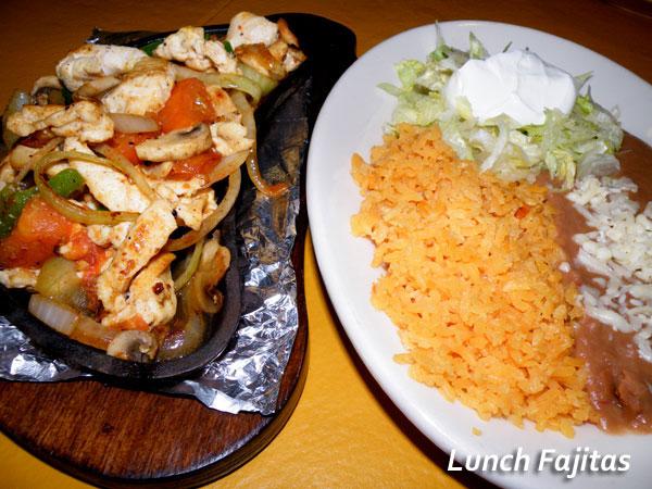 Poblanos Mexican Restaurant Lunch Fajitas image